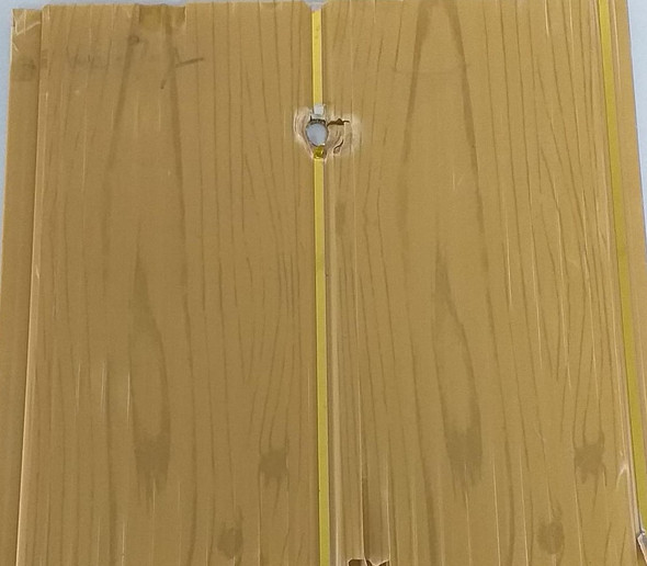 "CEILING PVC 19.5' X 8"" #GB008 BROWN W/GOLD"