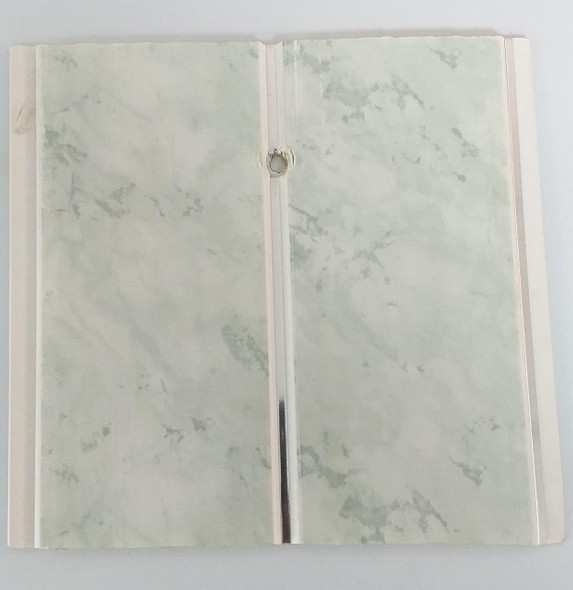 "CEILING PVC 19.5' X 8"" #HG-012 GREEN SPLASH"