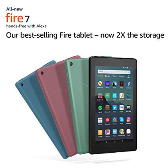 "TABLET AMAZON FIRE 7"" WITH ALEXA 16GB"