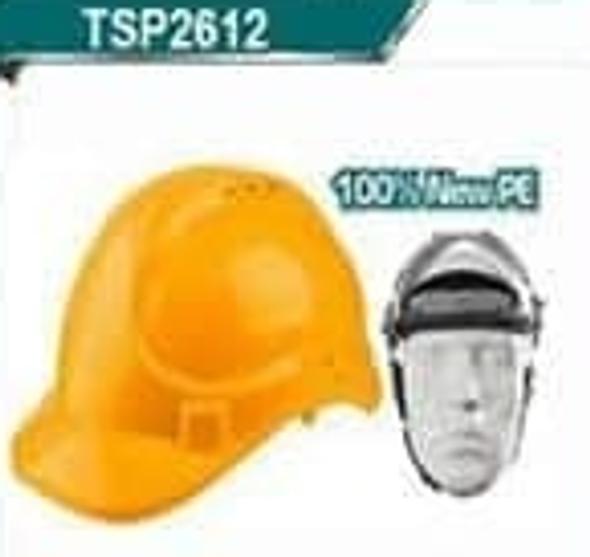 HELMET SAFETY TOTAL TSP2612 YELLOW