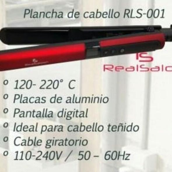 HAIR STRAIGHTEN IRON RLS-001 REAL SALOON