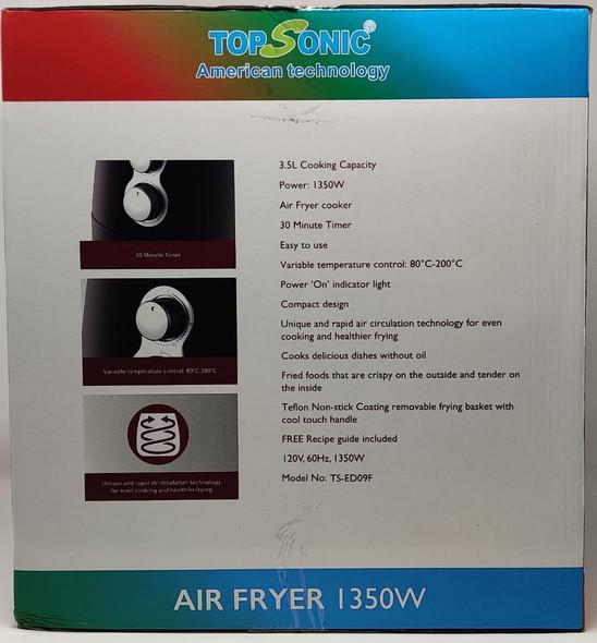 AIR FRYER TOP SONIC  TS-ED09F 3.5L
