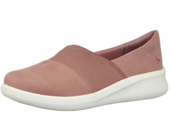Footwear Clarks Women's Sillian 2.0 Moon Loafer Flat Mauve Synthetic