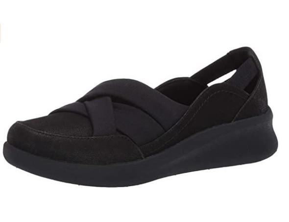 Footwear Clarks Women's Sillian 2.0 Star Flats Black Synthetic