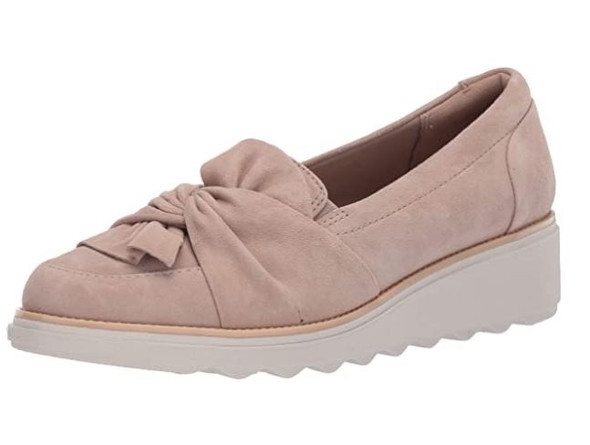Footwear Clarks Women's Sharon Dasher Loafer Sand Suede