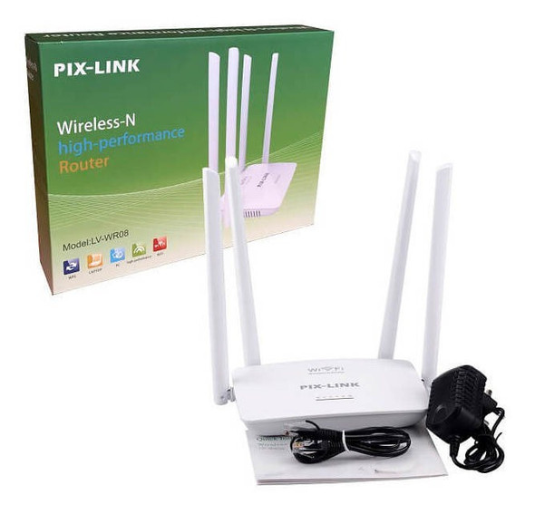 COMPUTER ROUTER WIFI N PIX-LINK LV-WR08