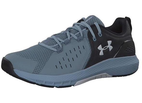 Footwear Under Armour Men's Charged Commit 2.0 Running Shoe Black (002)/Ash Gray