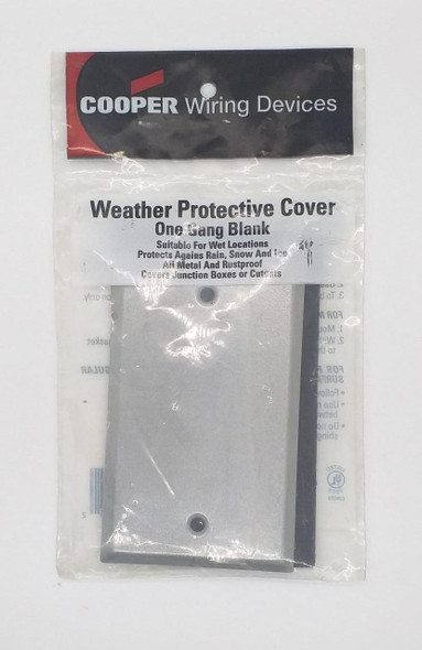 BASE COVER ONLY 2X4 S1987 METAL COOPER BLANK