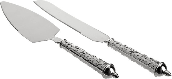 CAKE KNIFE AND SERVER WILTON 120-1093
