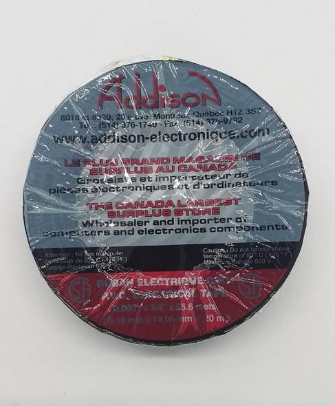 TAPE INSULATION 20M DTOOLS/ADDISON BLK/COL