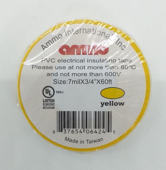 TAPE INSULATION AMMO PVC YELLOW