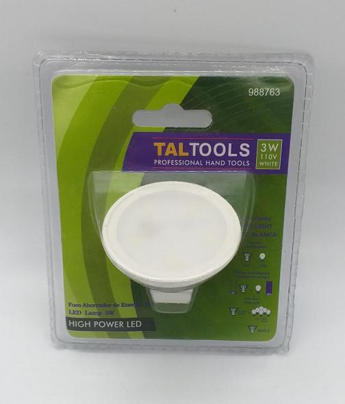 BULB LED TALTOOLS 3W 110V 988763 PIN TYPE
