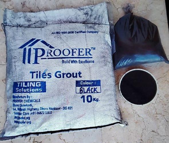 TILE GROUT PROOFER BLACK 10KG/22LBS