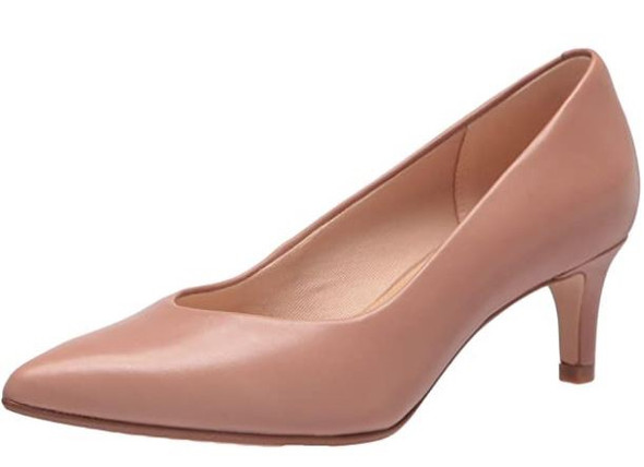 Footwear Clarks Women's Laina 55 Court W Praline Leather