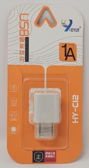 CHARGER USB ADAPTOR HEYU HY-C12 1A