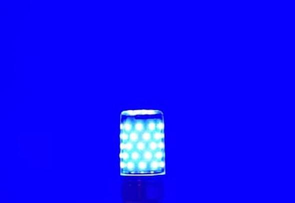 BULB LED COLOR 12W AC85-265V J.F.N.V MONOCHROME