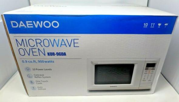 MICROWAVE DAEWOO 0.9 CF KOR-9GDA WHITE