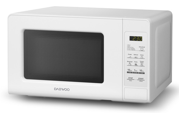 MICROWAVE DAEWOO 0.7 CF KOR-760WB WHITE 220V