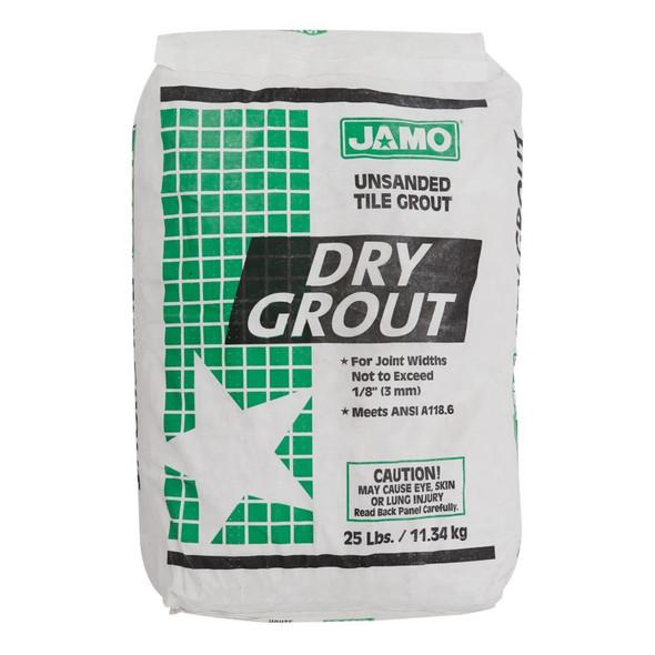 TILE GROUT JAMO UNSANDED 25LBS GREEN SACK