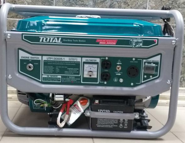 GENERATOR TOTAL 3000W UTP130005-1 KEY START