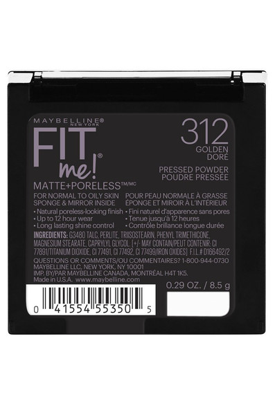 Maybelline New York Fit Me Matte + Pore Free Powder Makeup