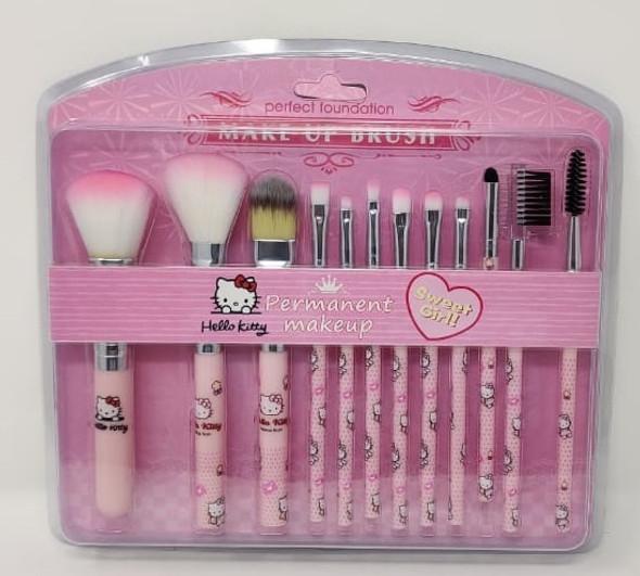 Makeup Brush Set Hello Kitty Sweet Girl 912