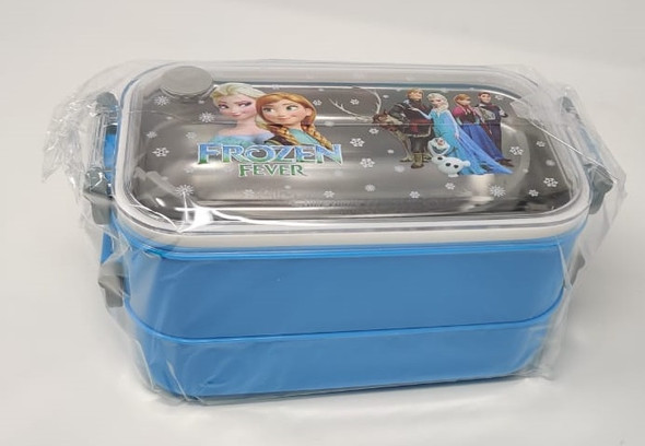 LUNCH BOX STAINLESS STEEL 2 LAYER 1600ML F128
