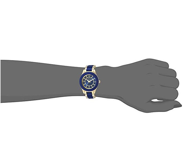 Watch Women XOXO Analog-Quartz Watch with Alloy Strap Two Tone 10 XO266
