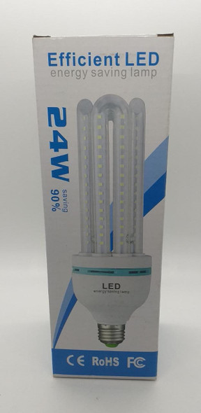 BULB LED ENERGY EFFICIENT 24W 4U 110/220V