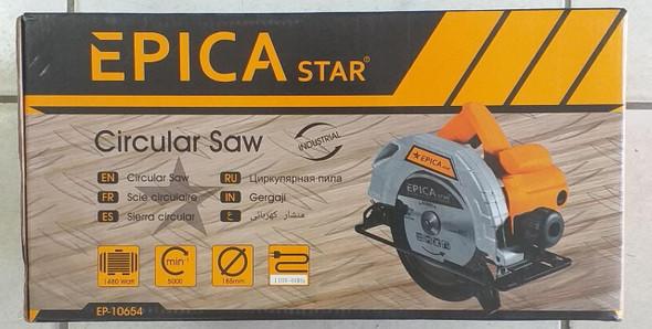 """SAW CIRCULAR 7 1/4"""" EPICASTAR EP-10654 110V 1480W"""
