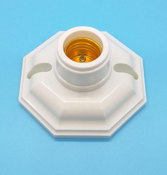 SOCKET SCREW WHITE OCTOGONAL OUTAI SE2786 PLASTIC