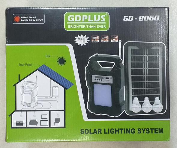 SOLAR LIGHTING SYSTEM GDPLUS GD-8060