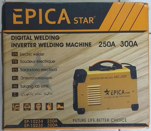 WELDING MACHINE EPICASTAR ARC-300P 300A INVERTER