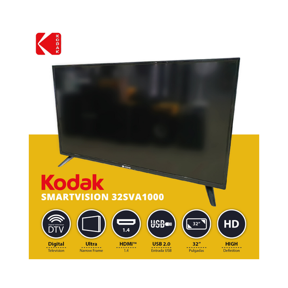 "TELEVISION KODAK 32"" 32SVA1000 SMART TV LED"