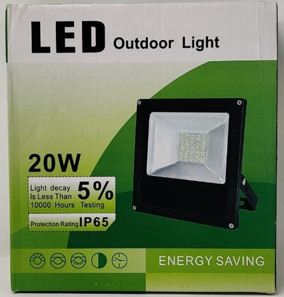 LAMP LED FLOOD 12V 20W IP66 W OUTDOOR LIGHT 200630