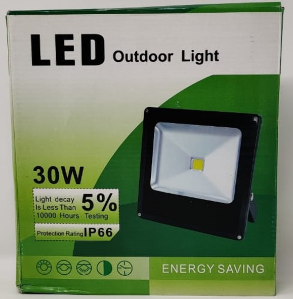 LAMP LED FLOOD 12V 30W IP66 W OUTDOOR LIGHT 200630