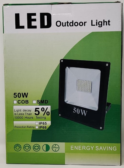 LAMP LED FLOOD 12V 50W IP66 W OUTDOOR LIGHT 200630