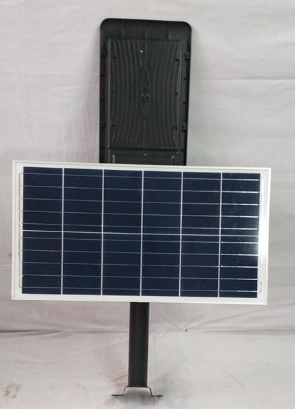 SOLAR LIGHT 300W LED WITH PANEL, POLE AND REMOTE STREET