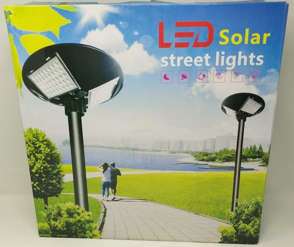 SOLAR LIGHT 150W LED WITHOUT POLE STREET 3-WAY BUILT-IN PANEL W