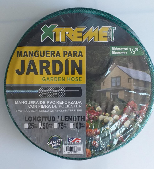 "HOSE 1/2"" X 50' JARDIN XTREME REINFORCED #G96157"