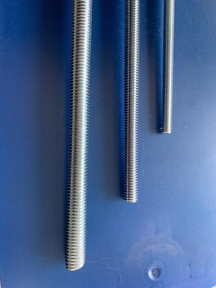 "THREADED ROD 1/2"" X 60""  (5FT)"