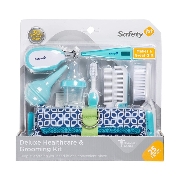 Baby Safety 1st Deluxe 25-Piece Baby Healthcare and Grooming Kit IH324 (Arctic Blue)