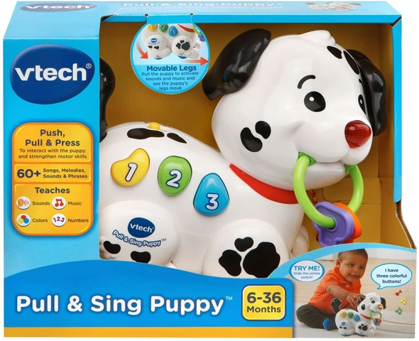 Baby VTech Pull and Sing Puppy 80-502800