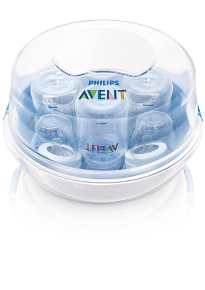 Baby Philips Avent Microwave Steam Sterilizer for Baby Bottles, Pacifiers, Cups and More SCF281/05