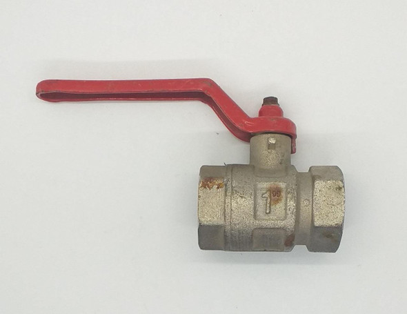 "LEVER VALVE 1"" NICKLE ITALY"