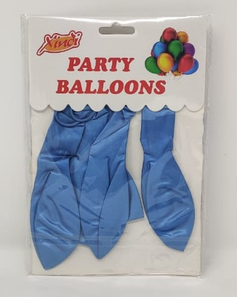 PARTY BALLOONS COLORED 6PCS PACK BS9 XINDI