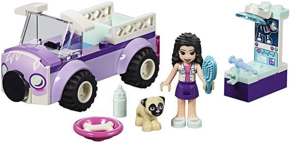 Toy LEGO Friends 4+ Emma's Mobile Vet Clinic 41360 Building Kit (50 Pieces) 6251668