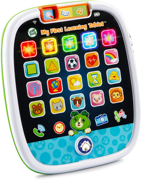 Toy LeapFrog My First Learning Tablet, White and green, Scout 80-602900