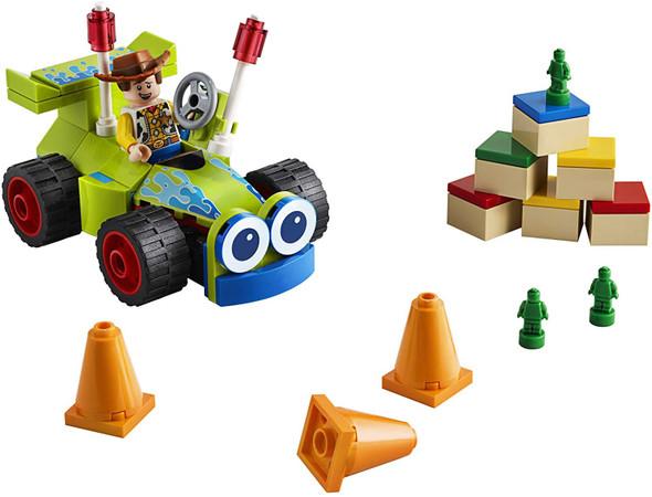 Toy LEGO | Disney Pixar's Toy Story 4 Woody & RC 10766 Building Kit (69 Pieces)