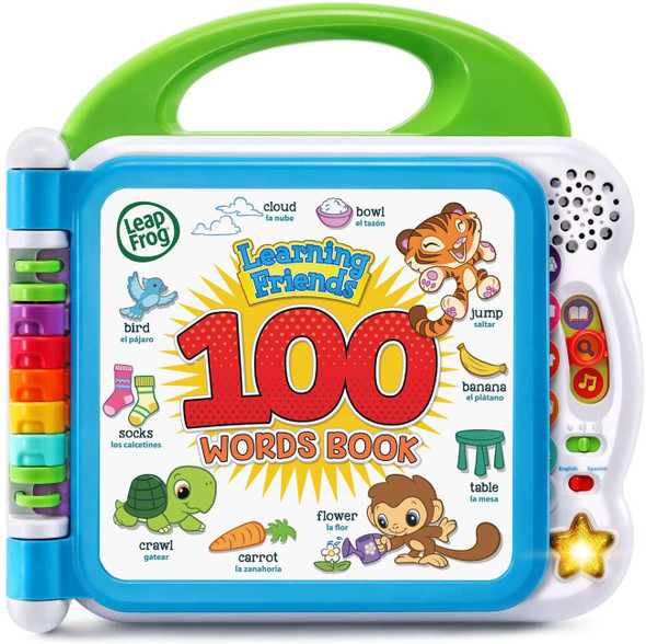 Toy LeapFrog Learning Friends 100 Words Book Green 80-601540